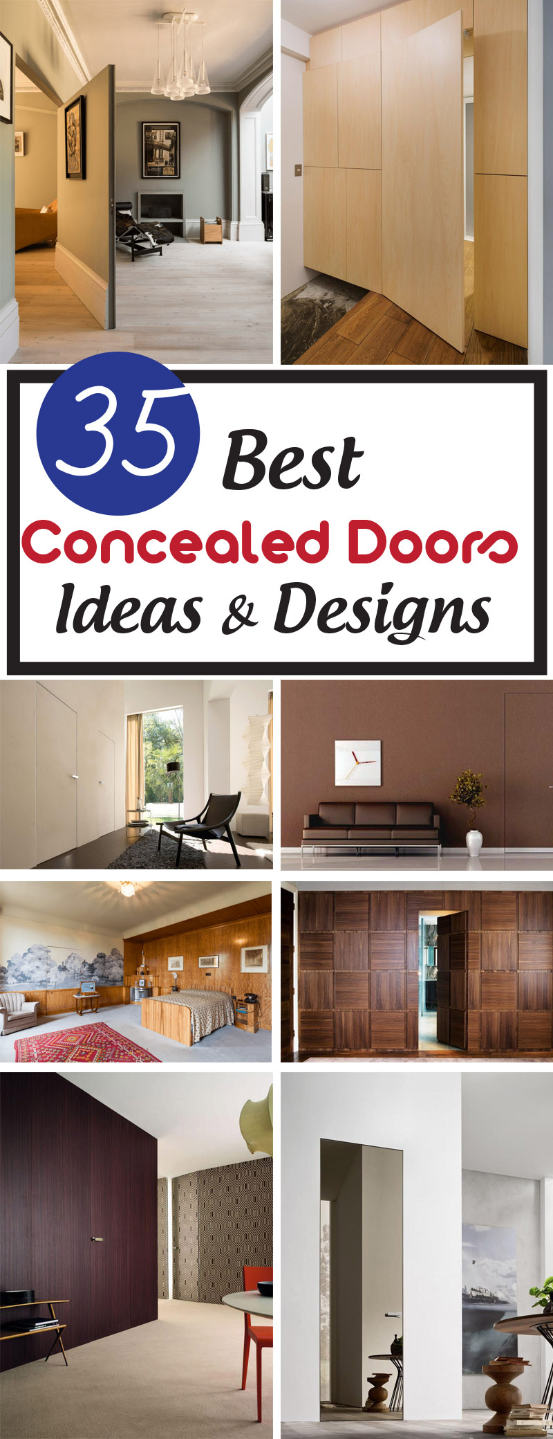 best concealed doors and ideas
