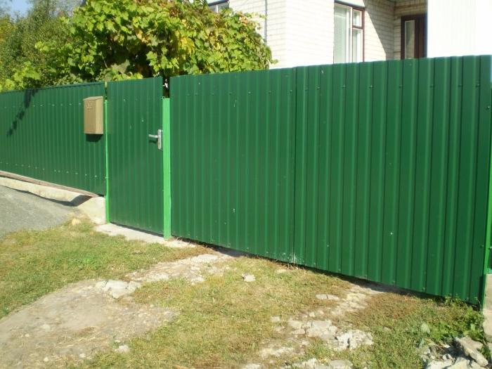 corrugated metal fence ideas on a budget