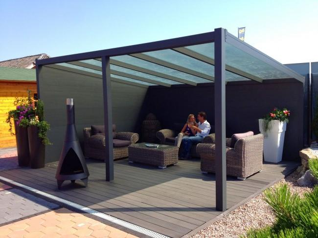 Almost any soil is suitable for installing a polycarbonate gazebo