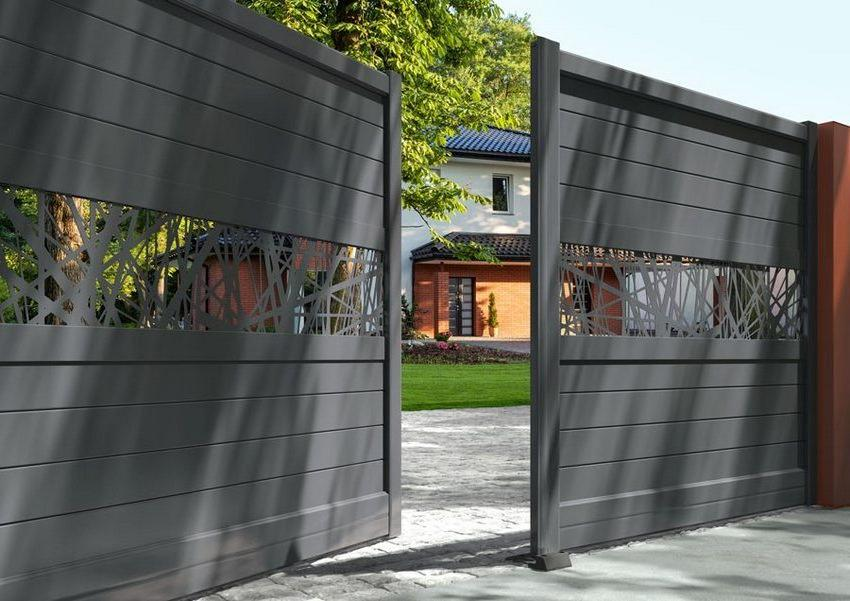 Double-leaf swing gates are the most common version of such designs.