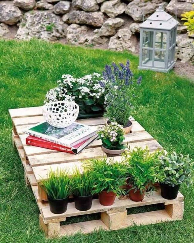 Eco-style coffee table