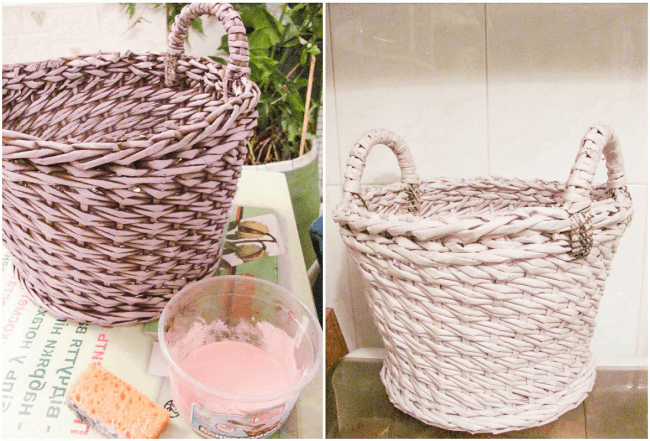 Wicker painting