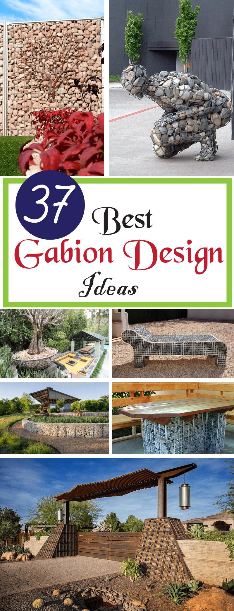 best gabion design ideas
