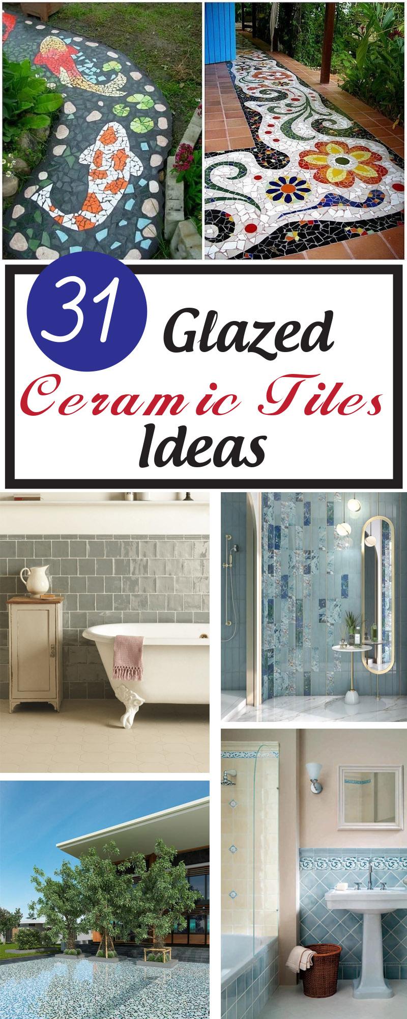 best glazed ceramic tiles ideas