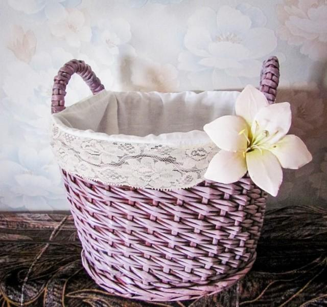 easy basket weaving with paper