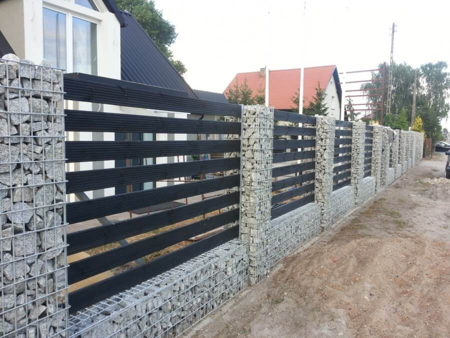 gabion for fence