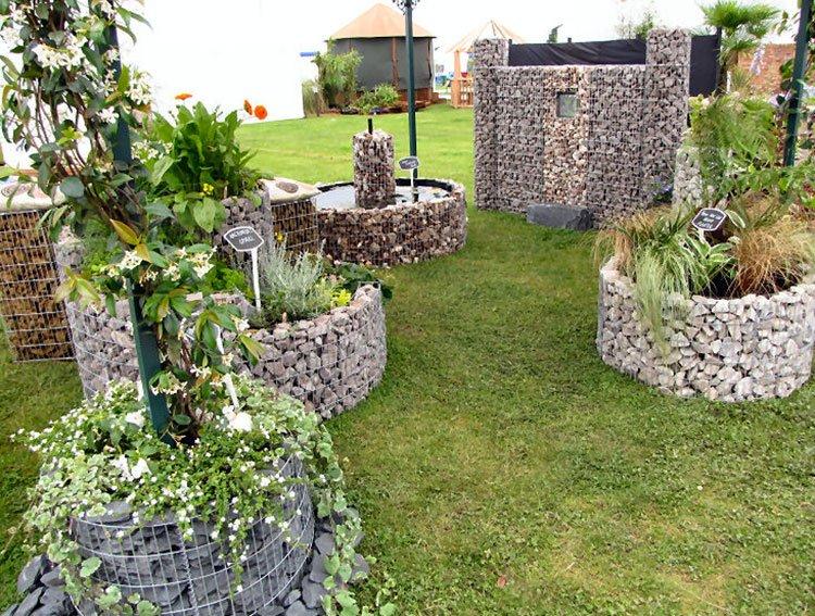 gabion pots for plantation
