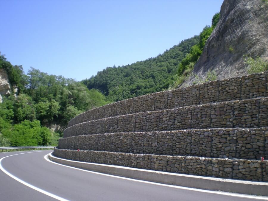 gabions for road