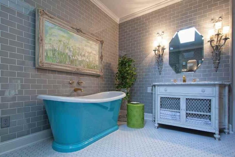 glazed ceramic tiles for bathroom