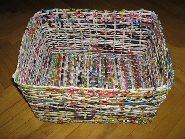 paper basket weaving patterns