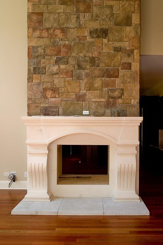 Contrasting Stone Finishes