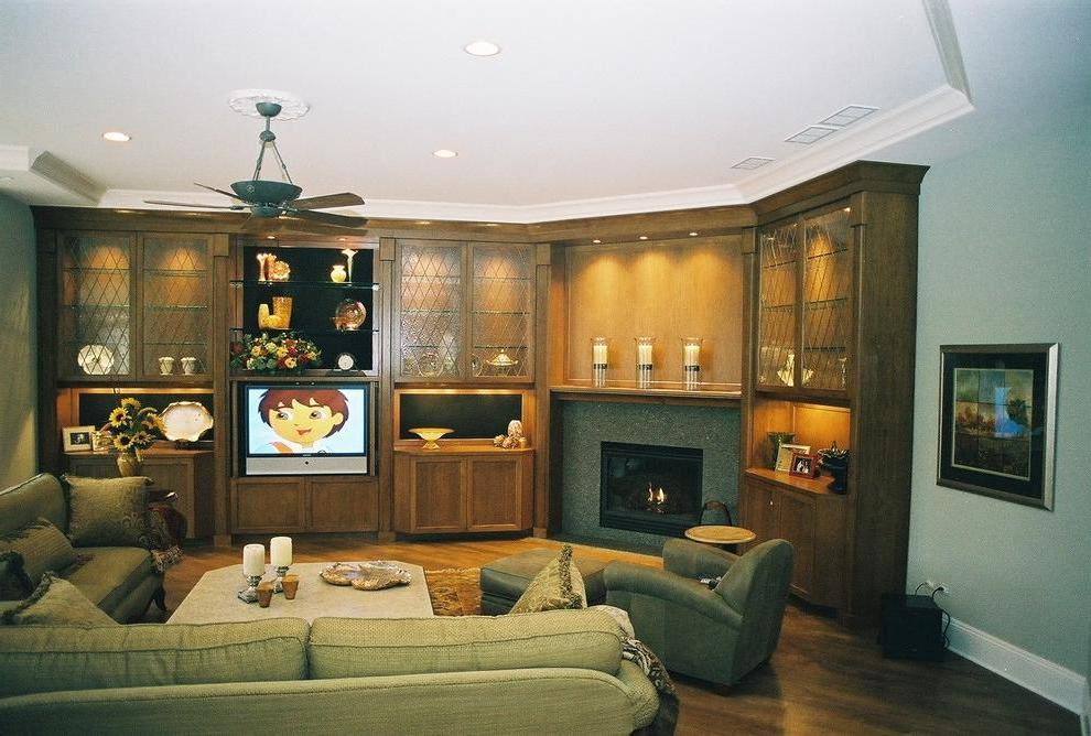 Electrical Corner Fireplace