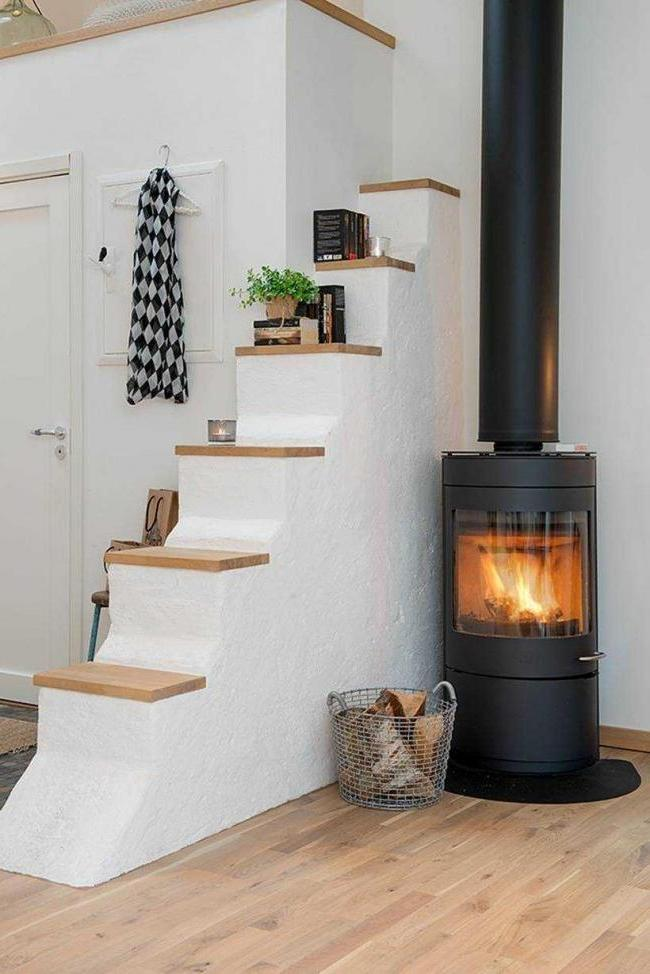 iron fireplace stove is very popular in the Nordic countries