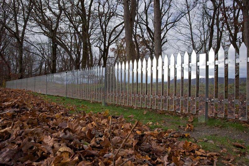 original glass fence